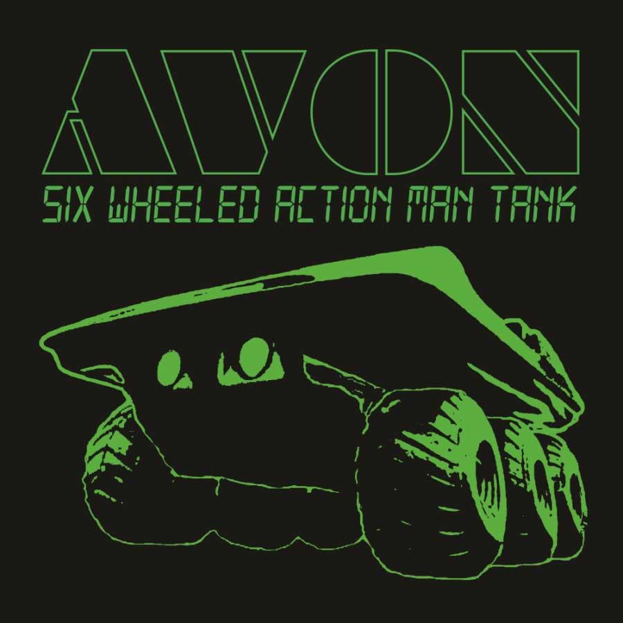 Six Wheeled Action Man Tank