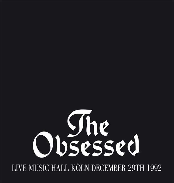 LIVE MUSIC HALL KOLN DEC 29TH 1992
