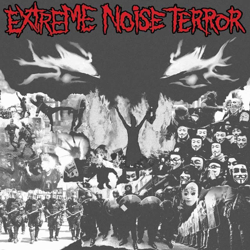 EXTREME NOISE TERROR - WHITE VINYL LP
