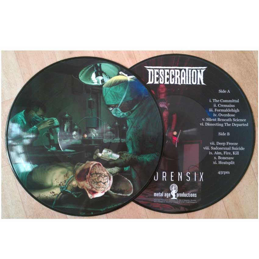 Forensix (Picture Disc) [VINYL]