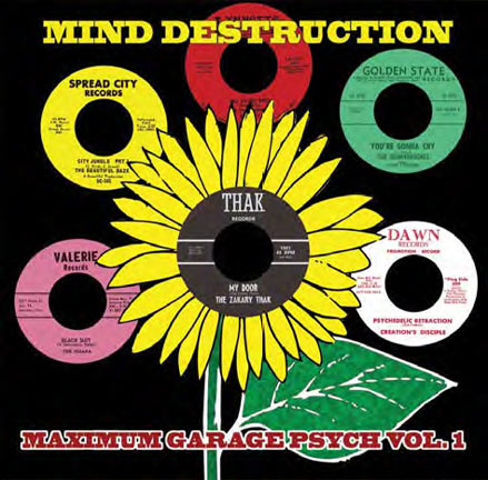 MIND DESTRUCTION MAXIMUM GARAGE PSYCH VOL. 1